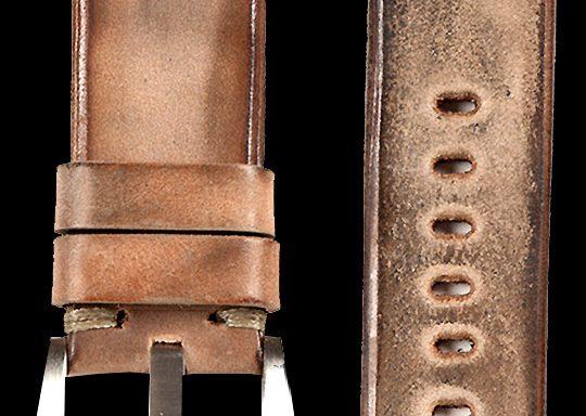 04 Vintage Horse Lether Strap Beige