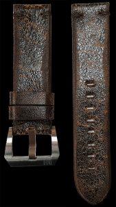 07 Vintage Cow Leather Strap Dark Brown