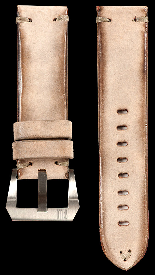 11 Vintage Horse Leather Strap Tan
