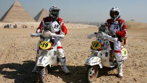 VESPA PX150 in FARAONS 2011