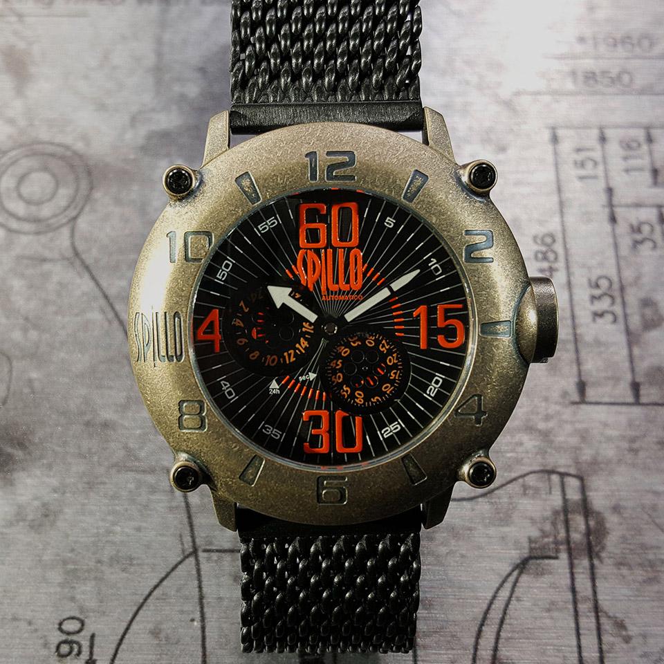 イタリアの腕時計ブランド SPILLO OUTLAW OL1000V6B-MK