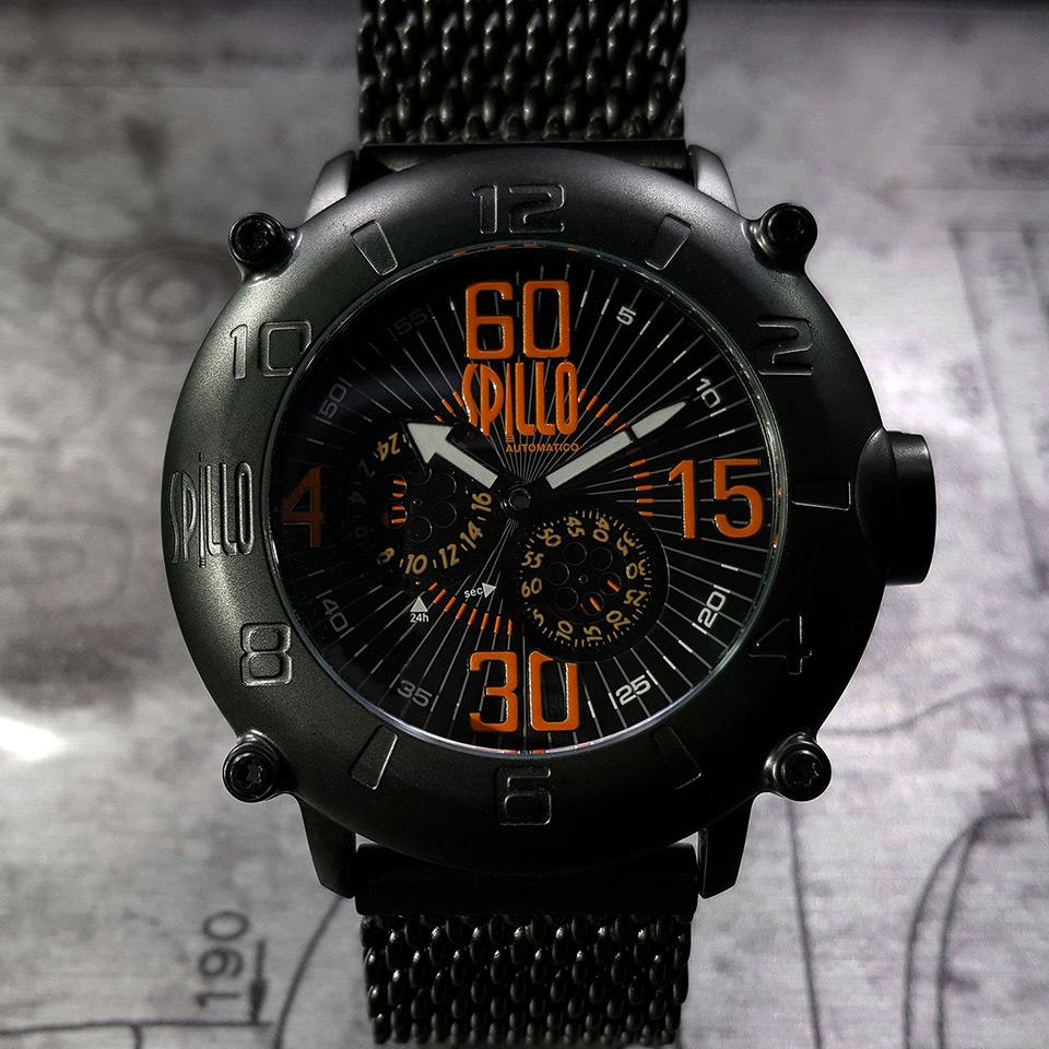 イタリアの腕時計ブランド SPILLO OUTLAW OL1000V6K-MK