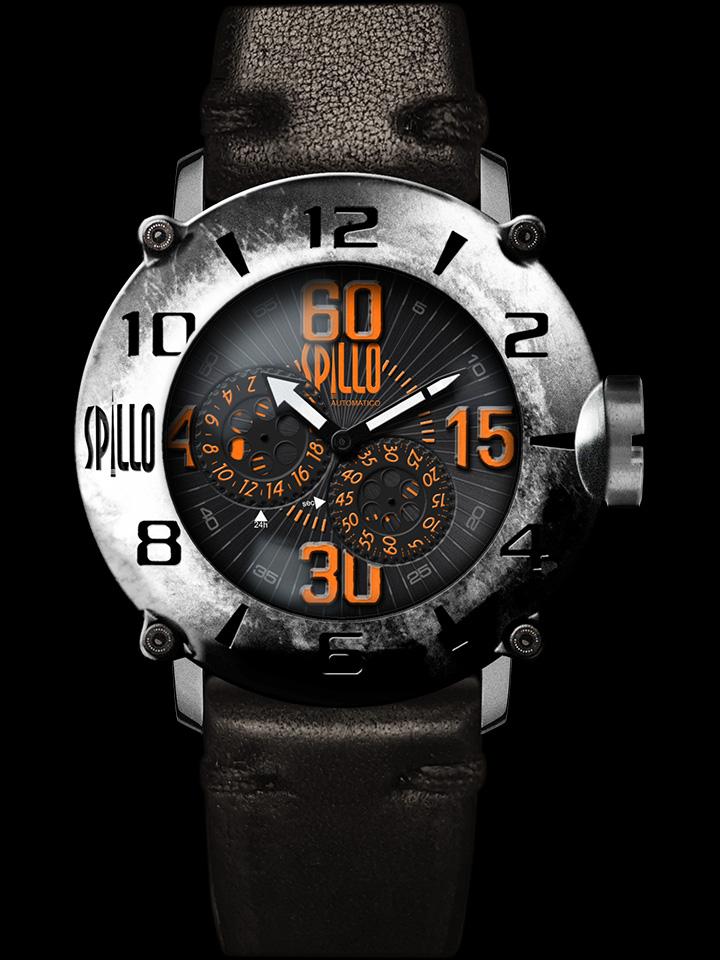 イタリア発の新ブランドSPILLO メンズ腕時計