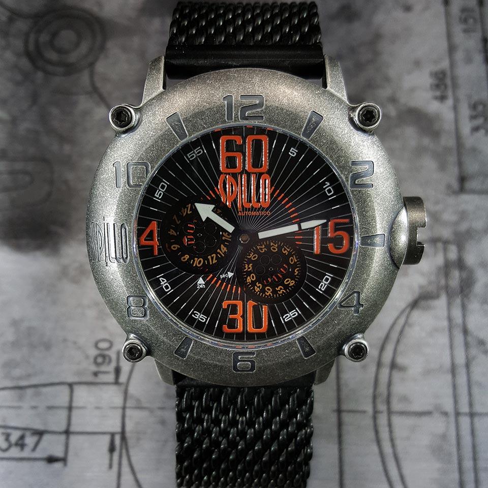 イタリア時計ブランド SPILLO OUTLAW OL1000V6S-MK