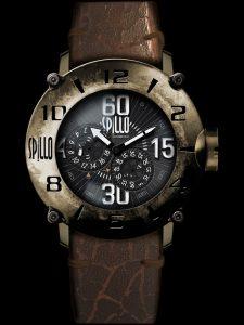 イタリアブランドSPILLOの男心をくすぐる重厚なルックスの時計