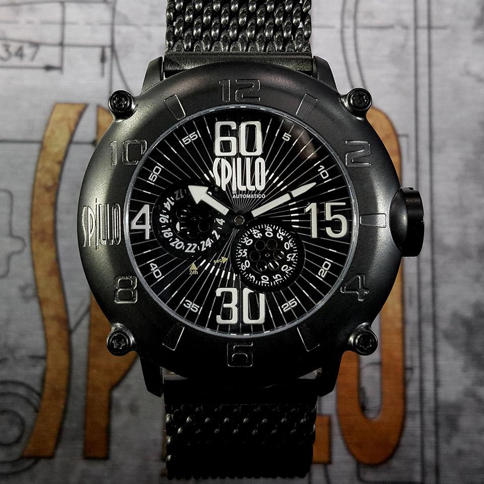 イタリアの腕時計ブランド SPILLO OUTLAW OL917KK-MK