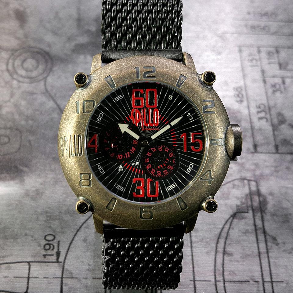 イタリアの腕時計ブランド SPILLO OUTLAW OLP4B-MK