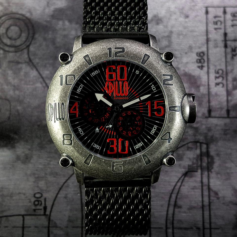イタリアの腕時計ブランド SPILLO OUTLAW OLP4S-MK