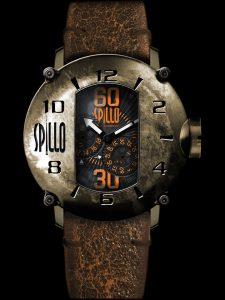 イタリア発のデザインウォッチブランド SPILLOのメンズ腕時計