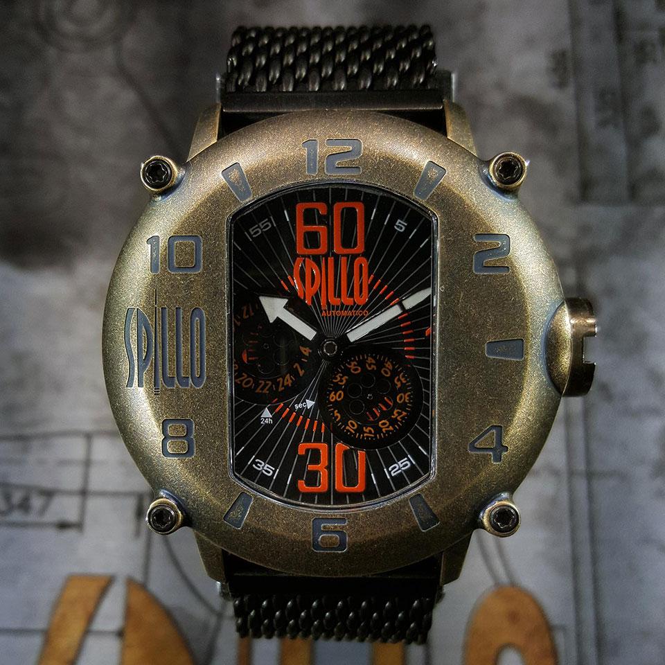 イタリア時計ブランド SPILLO SPEED DEMON SD1000V6B-MK02