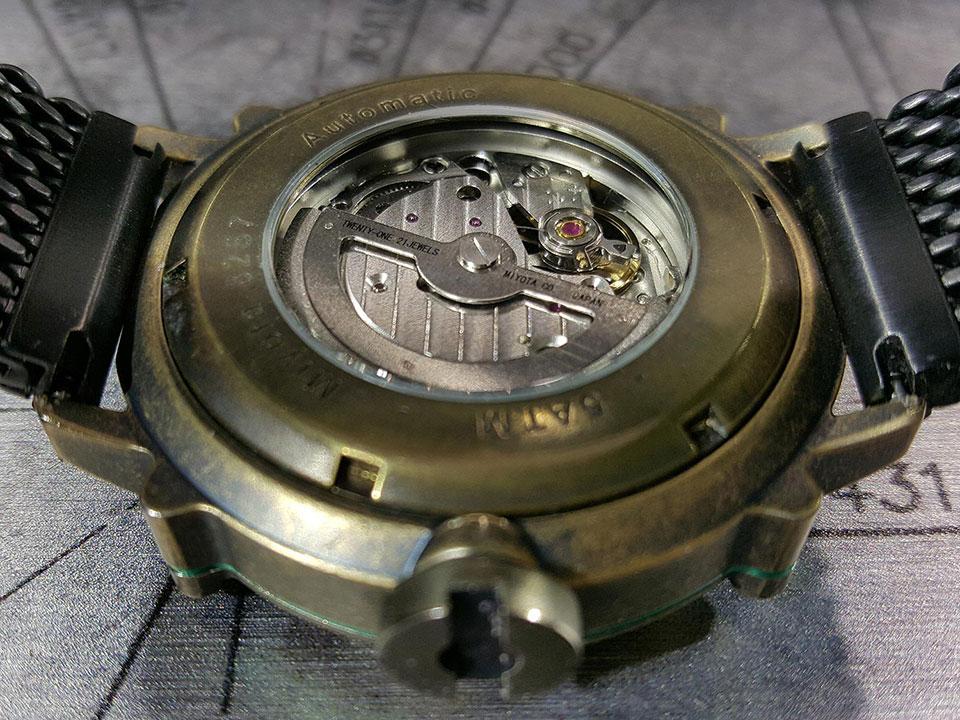 イタリア時計 スピーロ 自動巻き 機械式腕時計