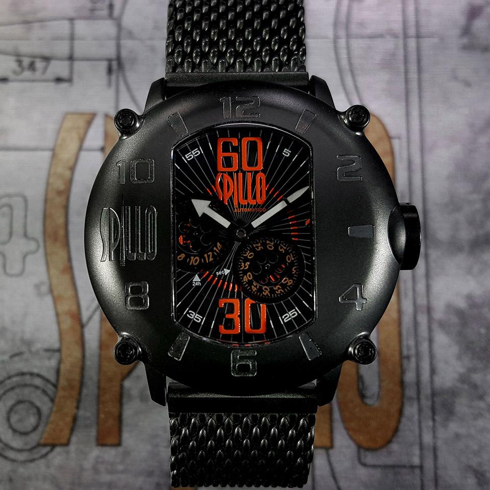 イタリア時計ブランド SPILLO SPEED DEMON SD1000V6K-MK