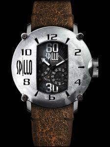 エンジンのキャブレターをデザインコンセプトにした個性的なメンズ腕時計