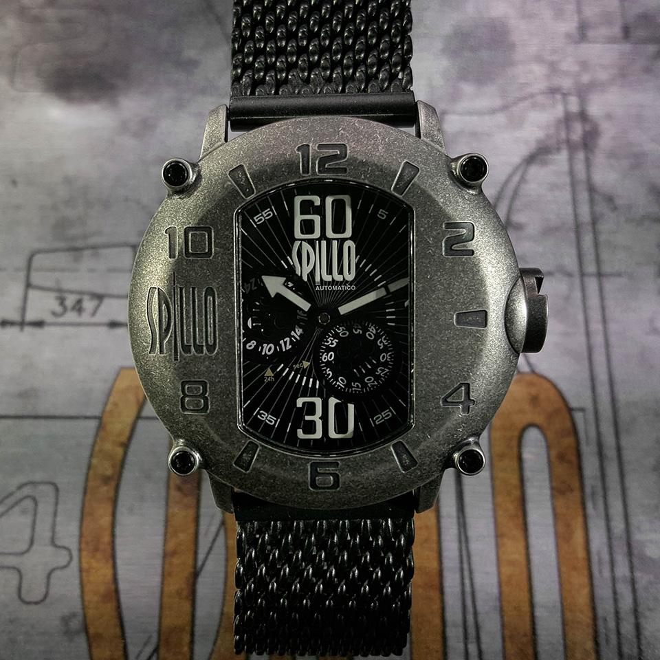 イタリア時計ブランド SPILLO SPEED DEMON SD917KS-MK