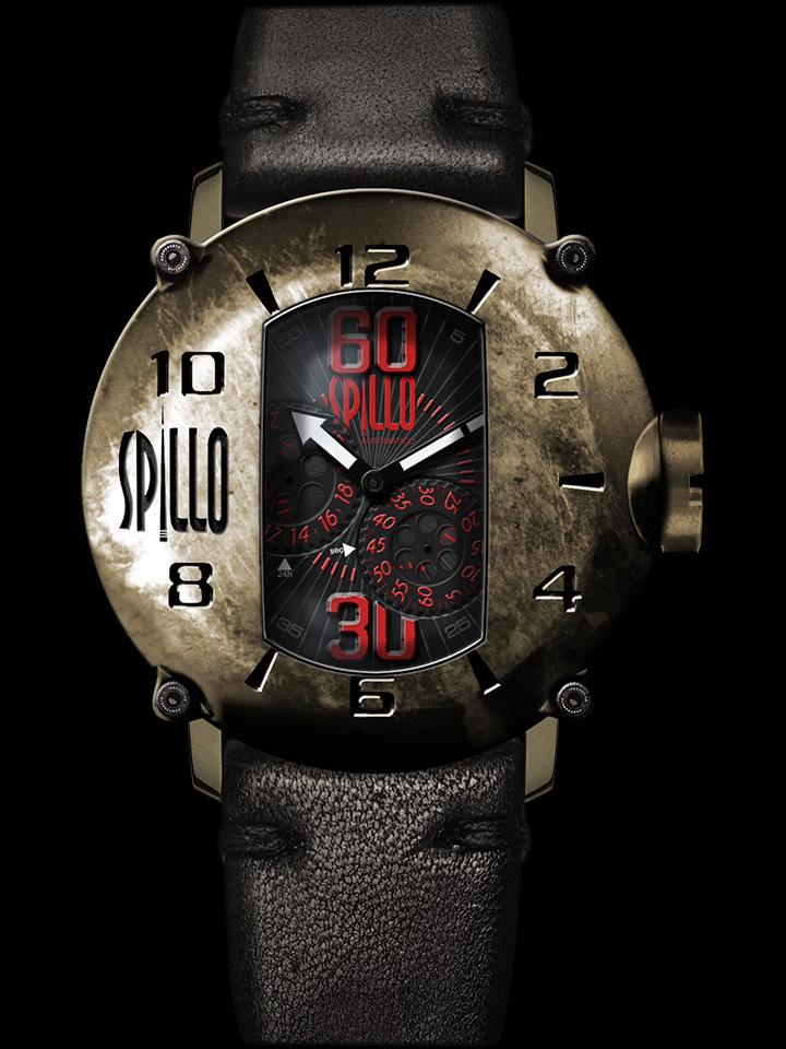 スチームパンクな新ブランド SPILLO イタリア時計
