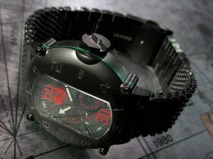 イタリア メンズ腕時計 SPILLO SPEED DEMON SDP4K-MK