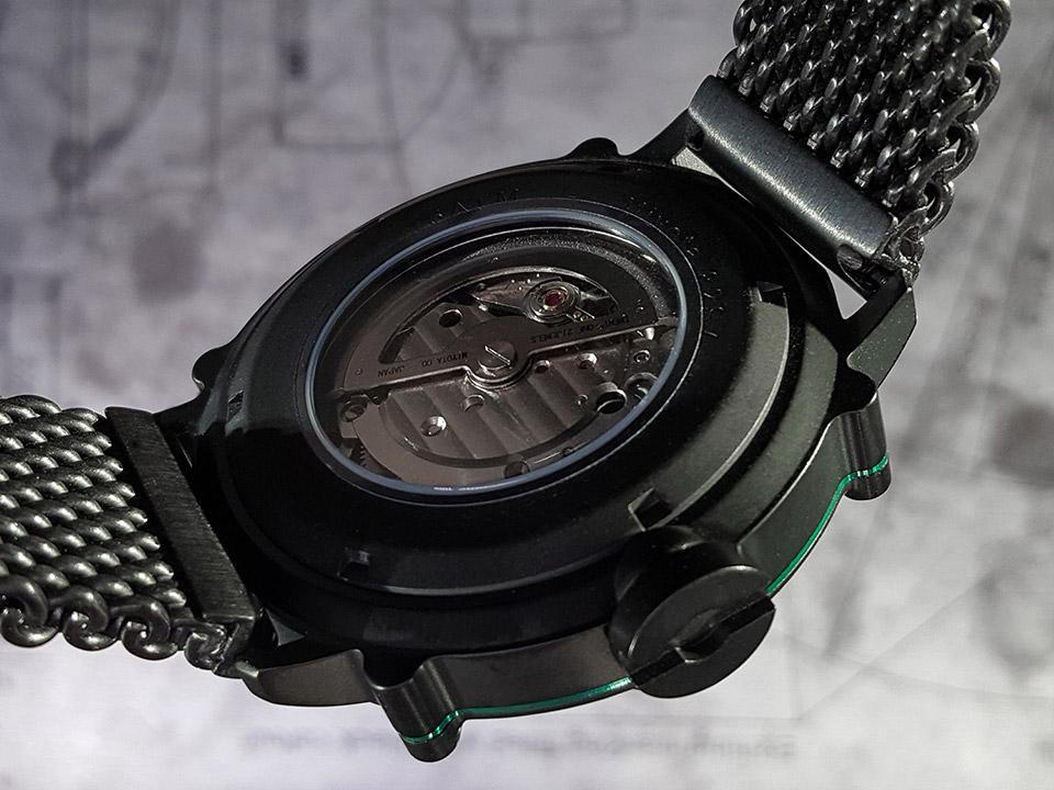 SPILLO SDP4K-MK 自動巻き 機械式腕時計 裏スケ