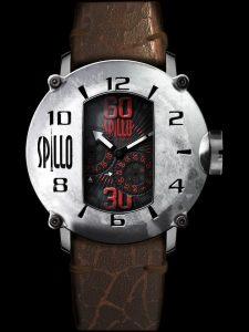 SPILLO はエンジンのキャブレターをイメージしたイタリアの個性派ウォッチブランド