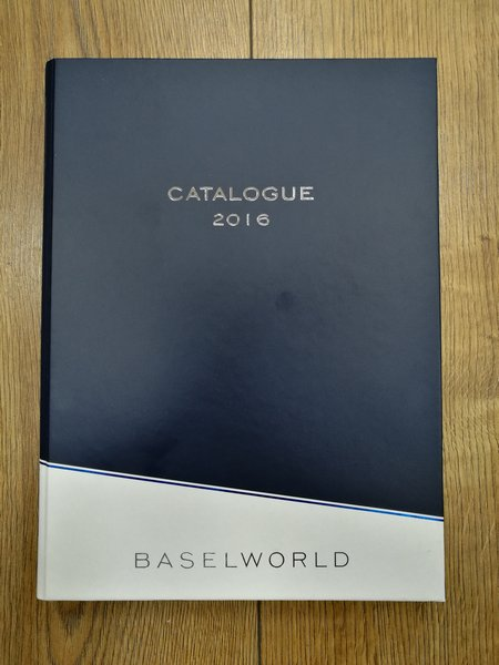 BASELWORLD2016 Catalogue