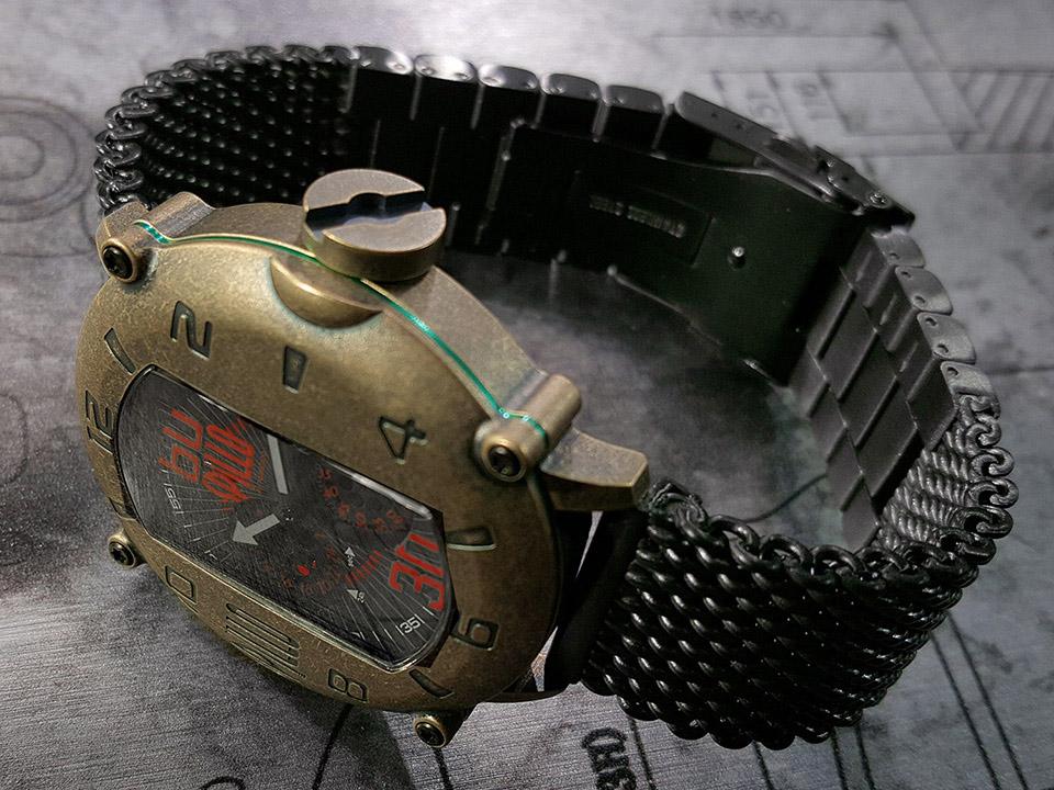 イタリア時計 SPILLO SPEED DEMON SDP4B-MK