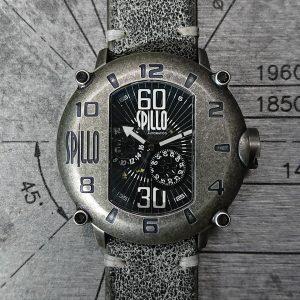 スピーロの腕時計 レザーストラップ