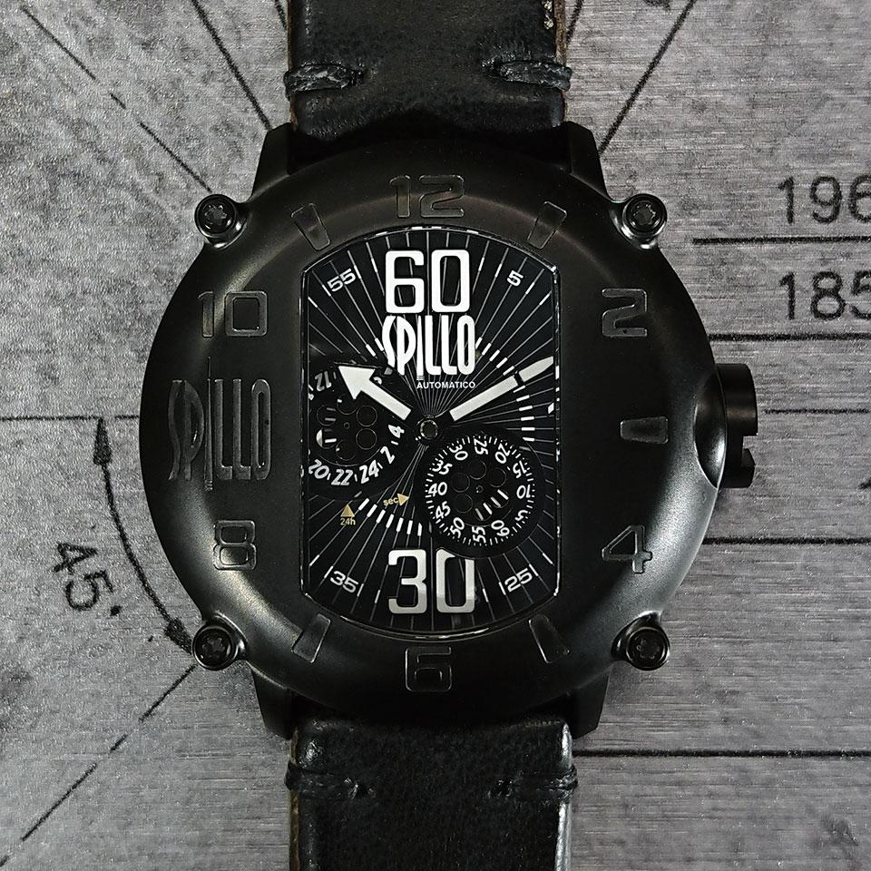 スピーロの腕時計 ホースハイドモデル