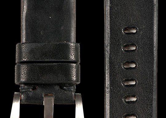 03 Vintage Horse Leather Strap Sumikuro