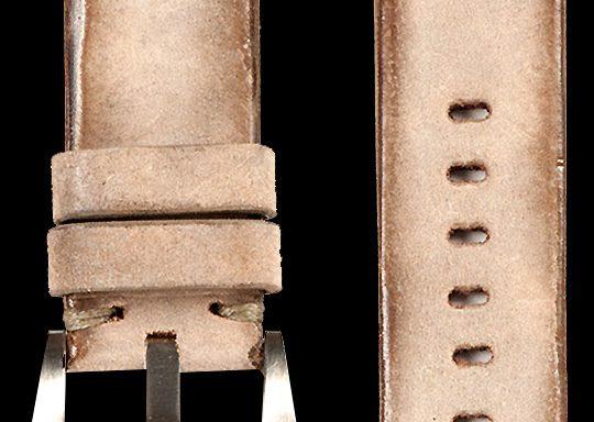 11 Vintage Horse Leather Strap Tan