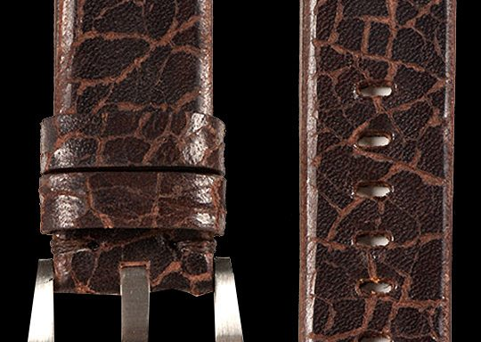 13 Vintage Cow Leather Strap Brown