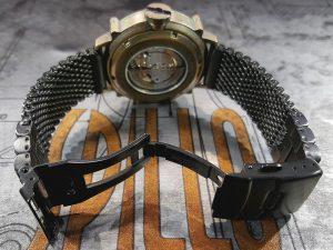 SPILLO 機械式腕時計 ミラネーゼブレス
