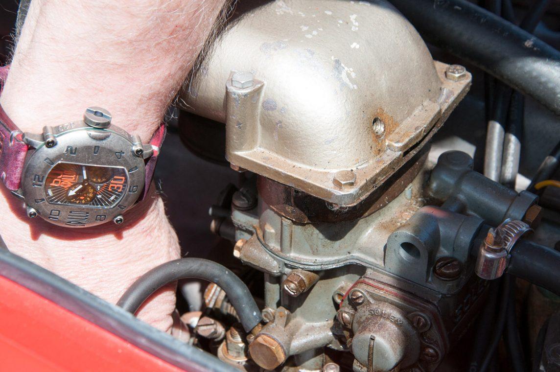 SPILLOの時計とキャブレター